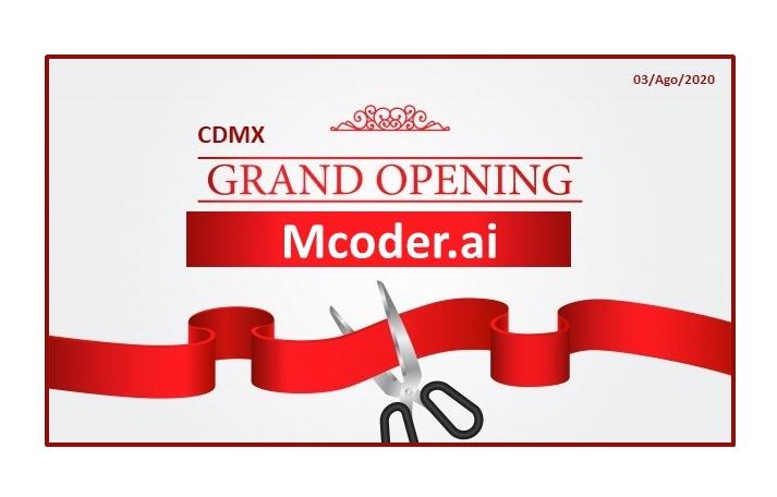 OPENING Mcoder.ai CDMX